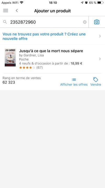 seller central amazon fr
