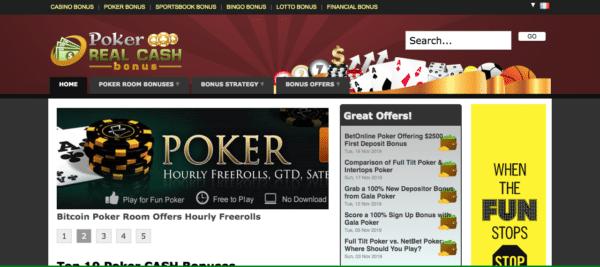 Poker site d'affiliation de niche