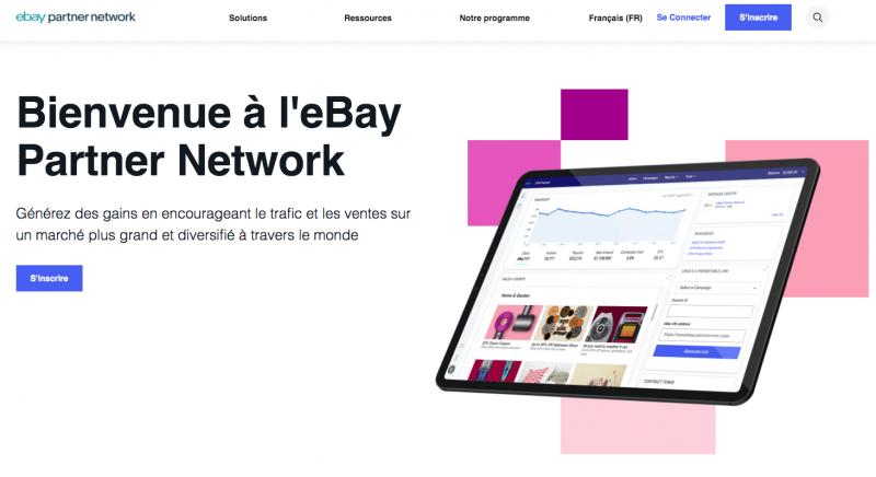 programme partenaire affiliation eBay