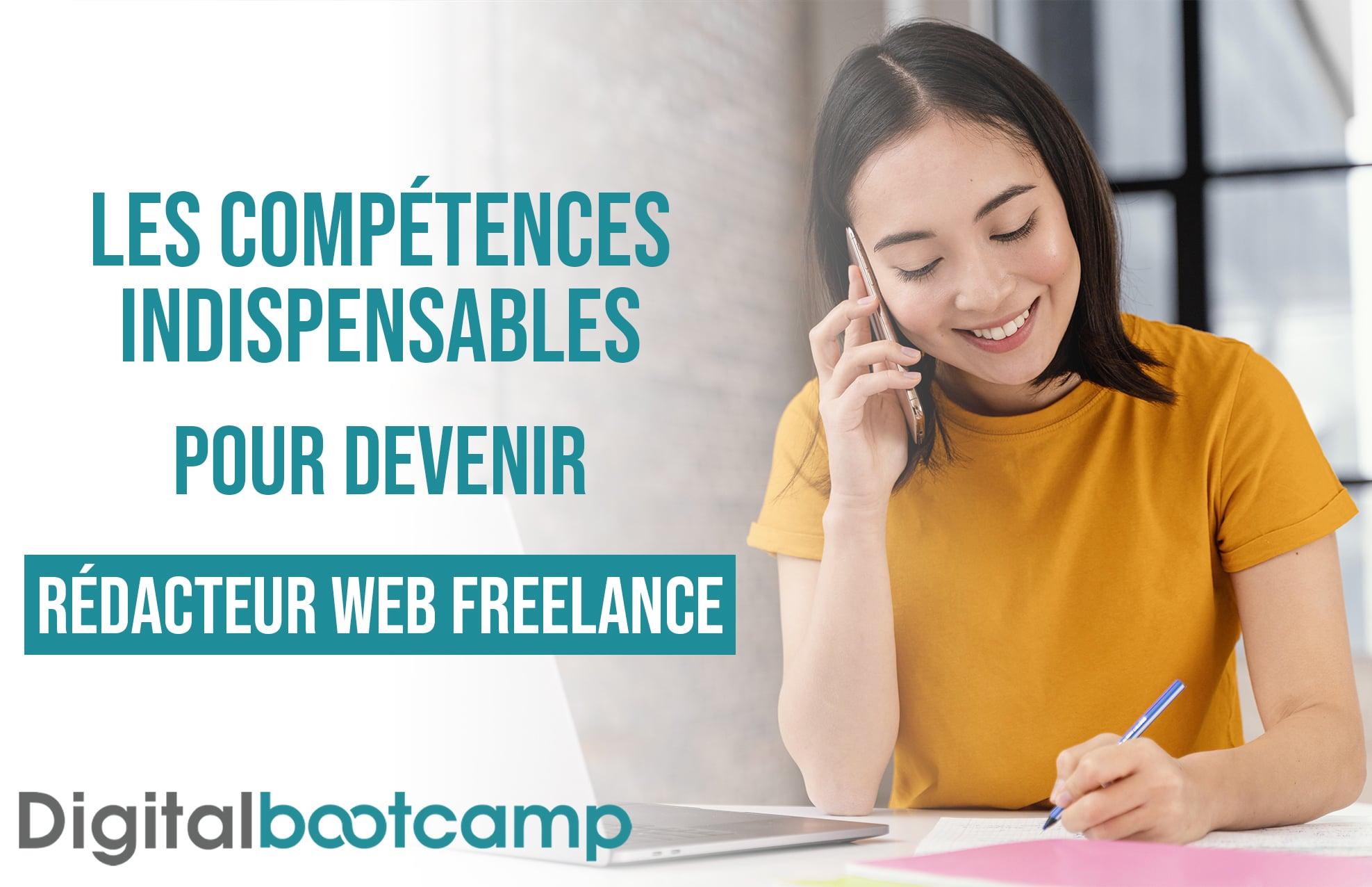 Les compétences insdispensable pour devenir rédacteur web