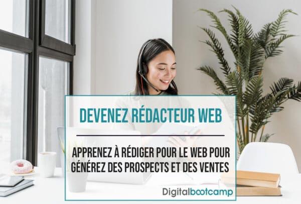 Formation de rédacteur web par Digital-bootcamp