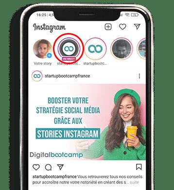 Direct instagram pour améliorer votre visibilité