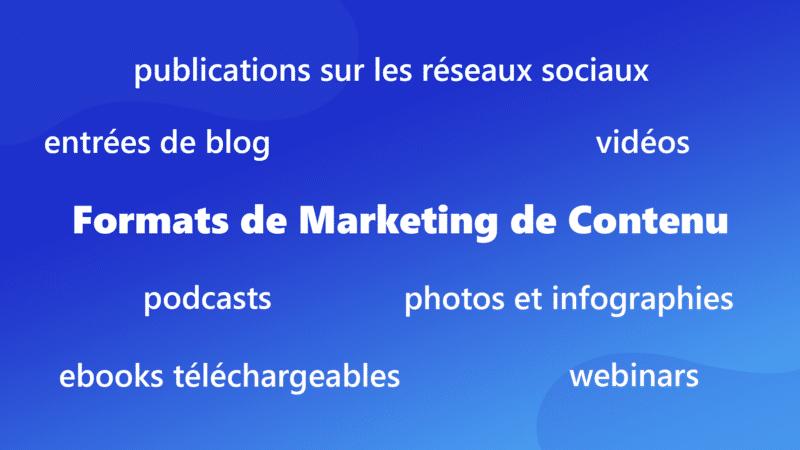 Stratégie marketing de contenu